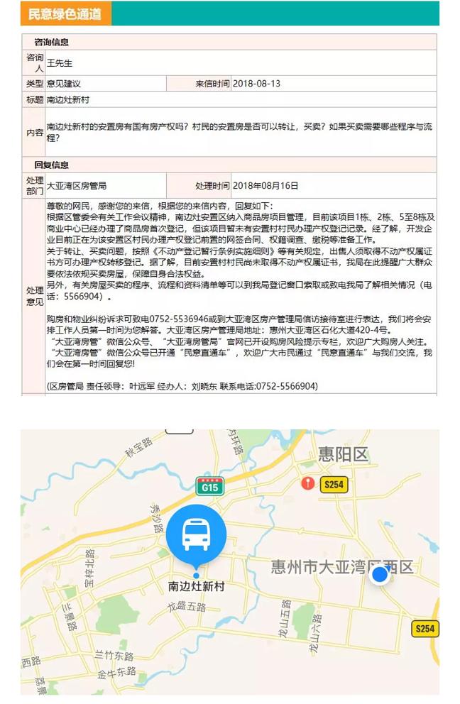 大亚湾南边灶花园新村是不是商品房红本产权吗?,房管局有最新回复