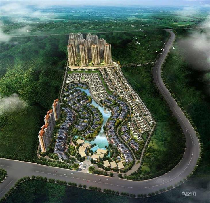 惠州小别墅中式四合院东江月岛, 惠州北站粤赣高铁旁最便宜别墅。