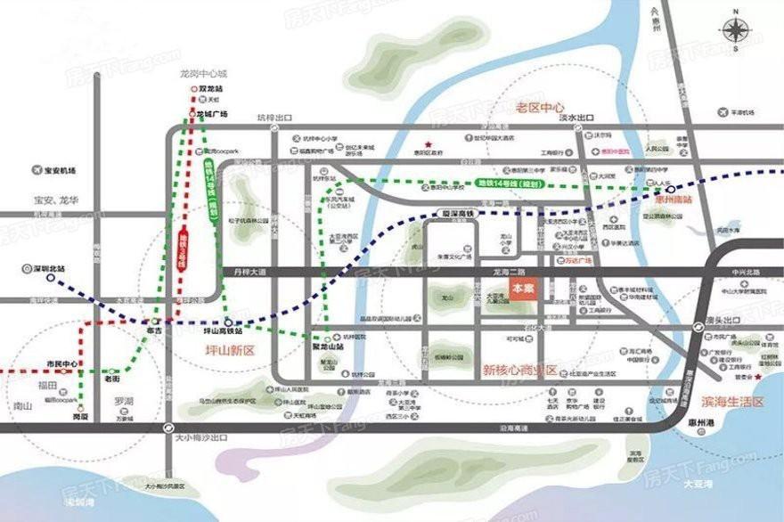 惠州大亚湾家悦龙庭为什么比卓洲悦园便宜 低首付 ?距离万达600米吗?