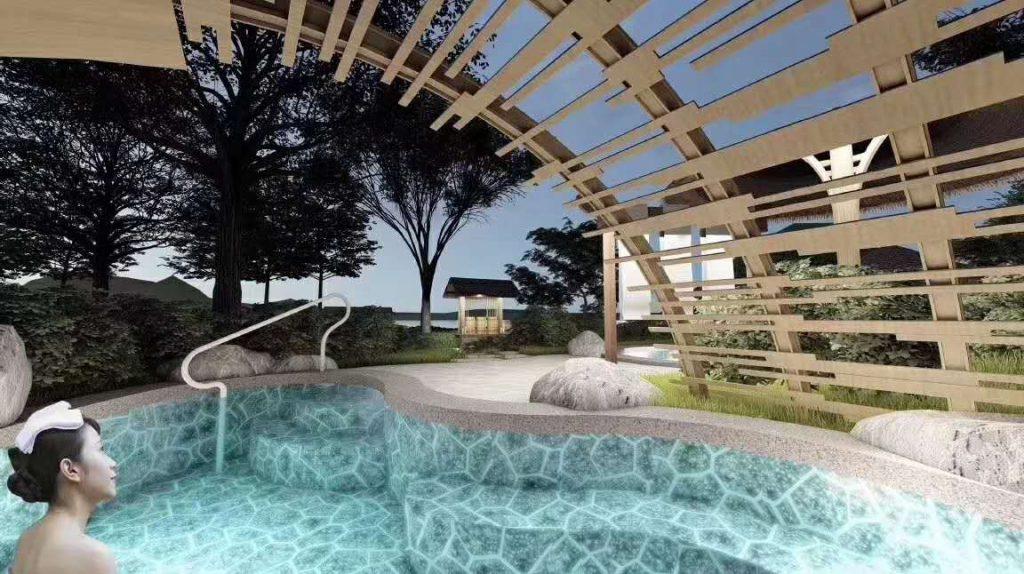惠东巽寮湾星河·山海半岛别墅 温泉设计规划方案细节 2020年在社区泡养生汤泉