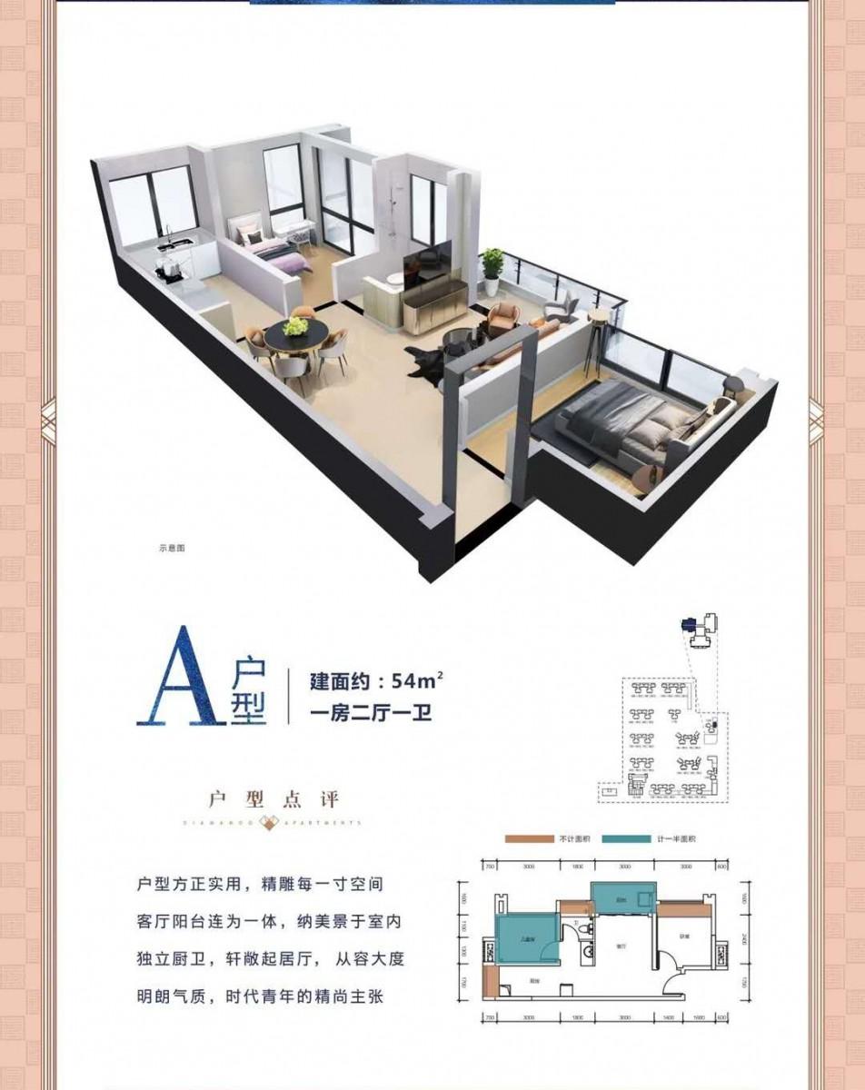 龙光城荣佳国韵隔壁丰谷天玺二期12栋公寓33-55平 精品 临深投资物业 不限购不限贷