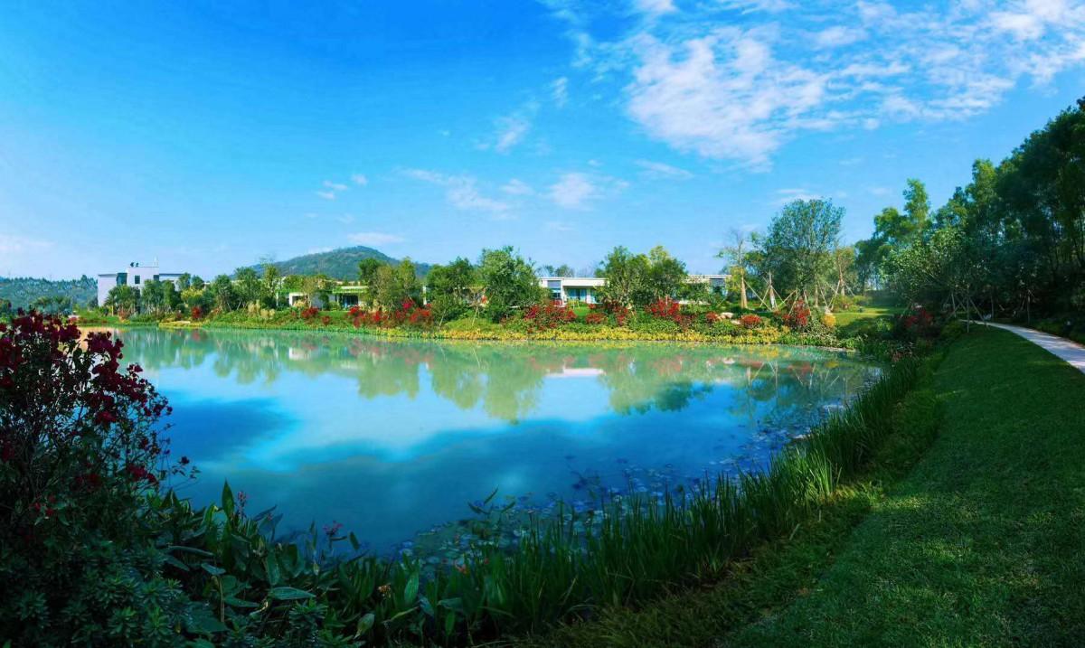 惠阳碧桂园湖光山色低密度叠湖生态大城 环湖别墅 高层洋房降价?