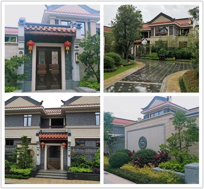 惠州北站星河丹堤260-330平新中式岭南院子 双首层 独门独院别墅 在售