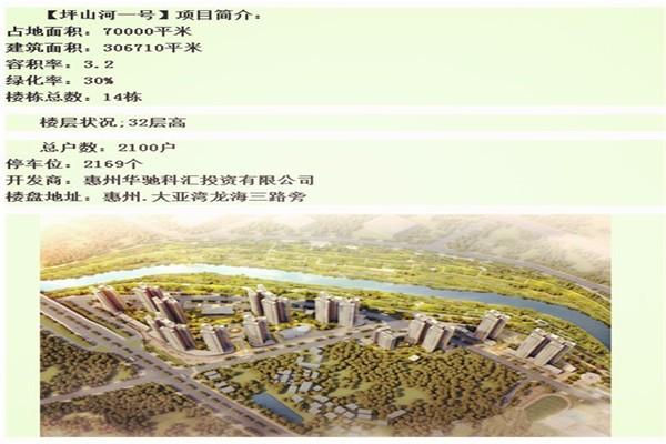 华策大亚湾龙海三路坪山河一号花园在哪里,备案房价对比七里香堤 荣佳国韵会降价吗?