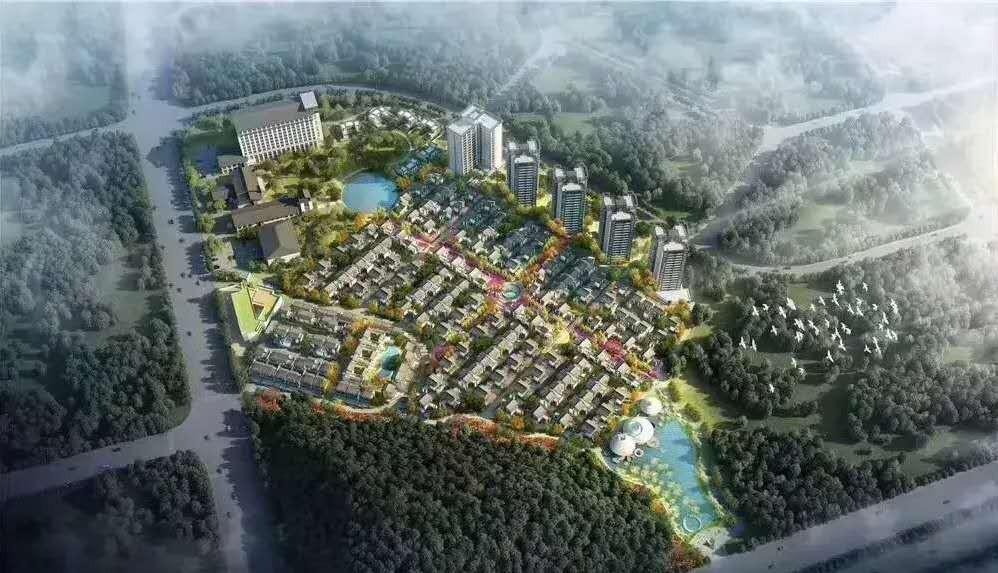 罗浮山十里方圆加推49-57栋山镇合院面积143-158平,72㎡精装洋房及44-55㎡精装公寓在售,可酒店托管