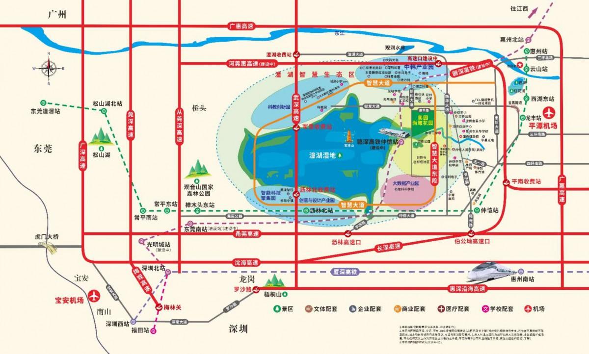 仲恺奥园尚雅花园5年后的房价大猜想 华为进驻惠州潼湖生态智慧区能不能成为第二个松山湖