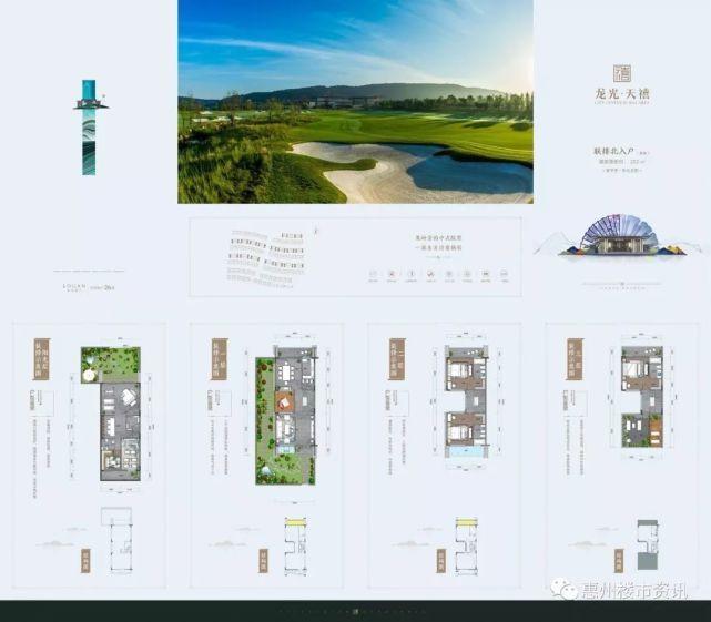 惠州北站龙光天禧160-190平联排高尔夫别墅 二期高层玖悦城精装修首付8万?