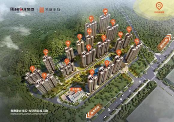 惠州大亚湾西区龙海三路荣盛华府开盘备案价比林间漫便宜吗?